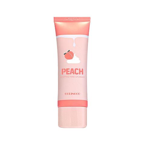 Kem đào dưỡng trắng da Coringco - Peach Whipping Tone Up Cream