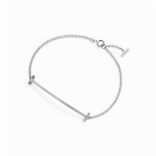 Tiffany&Co Smile Bracelet Silver