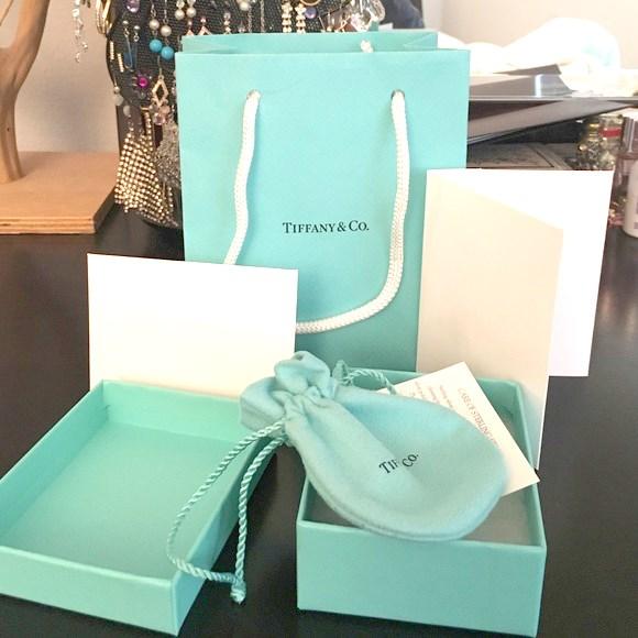 Tiffany & Co Silver Key and Heart