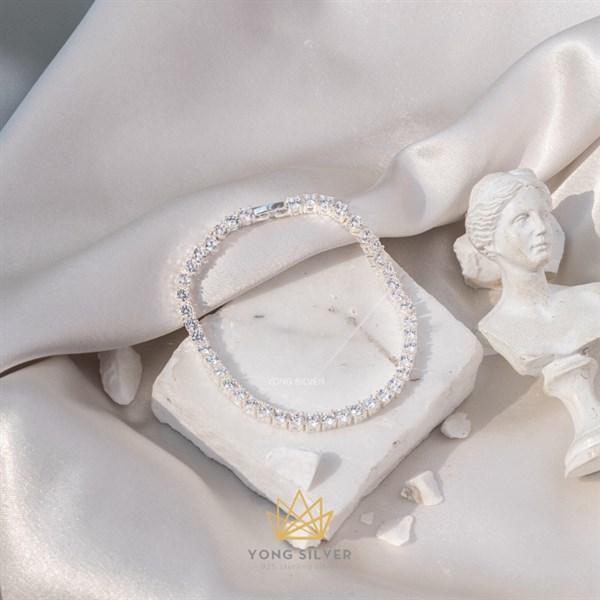 Tennis Glosbe Bracelet