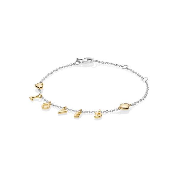 Loved Script Pandora Bracelet