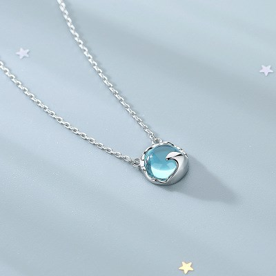 Wave-by-wave Silver Necklace