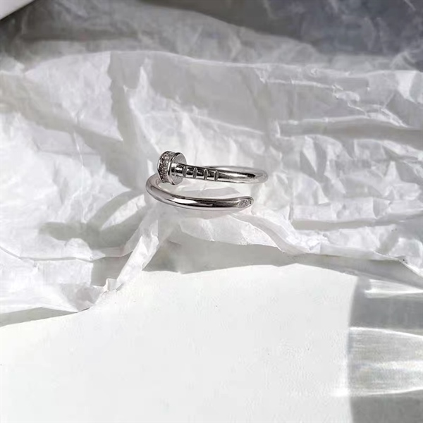 Cartier Silver Ring ( Freesize )