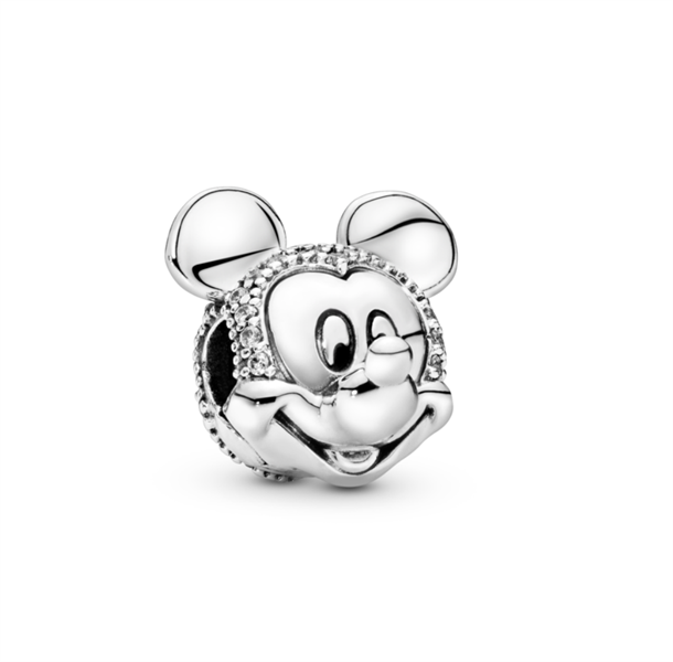 Disney Mickey Mouse Pave Clip Charm
