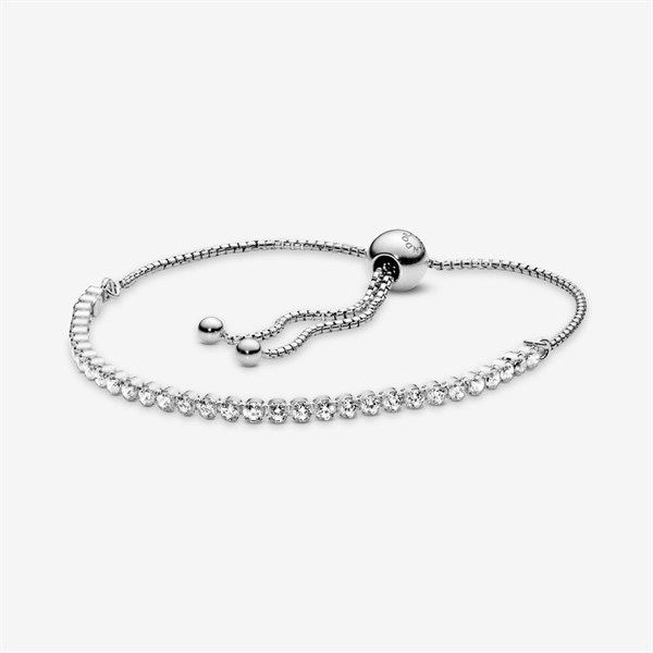 Sparkling Slider Tennis Bracelet
