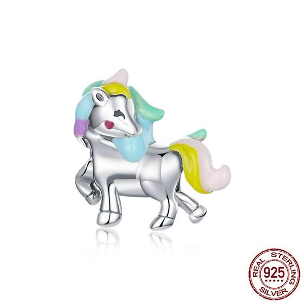 Baby Rainbow Unicorn Charm