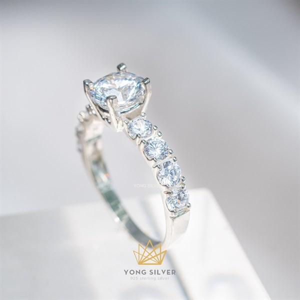 Canopus Star Diamond Silver Ringh