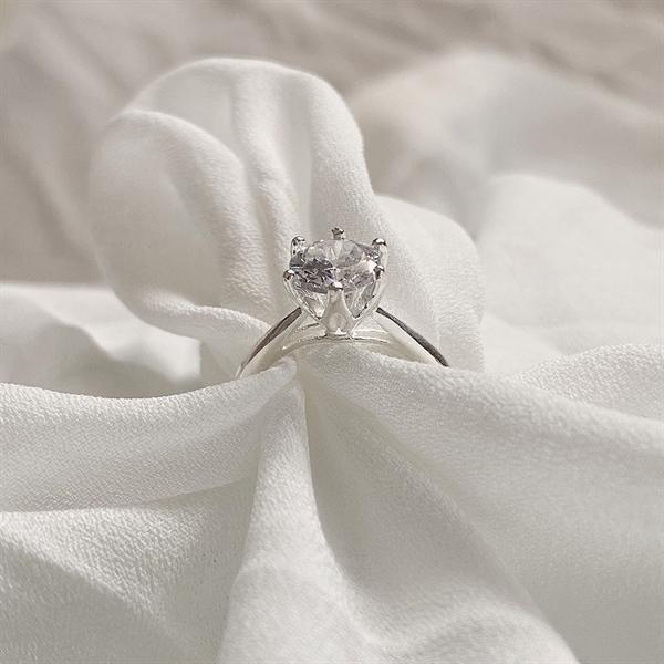Basic Diamond Ring (s950)