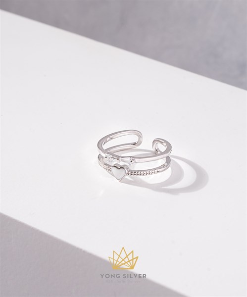 Love and Bow Diamond Ring