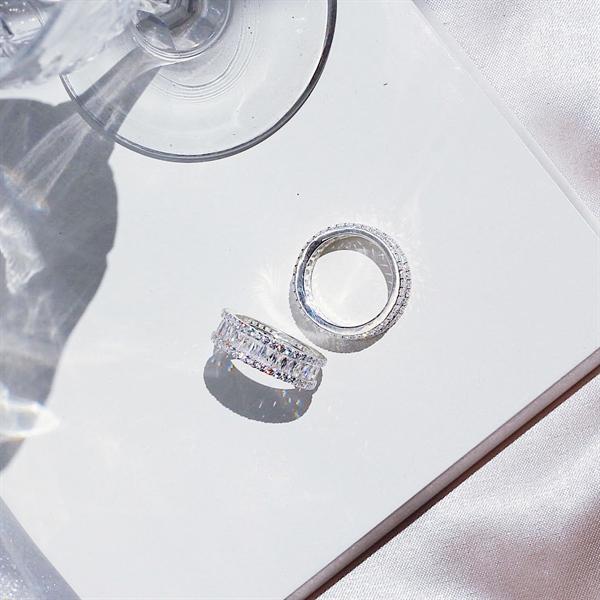 Nhẫn Baguette Eternity Ring