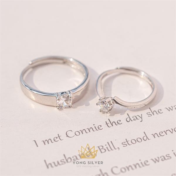 Couple Hlalia Silver Ring