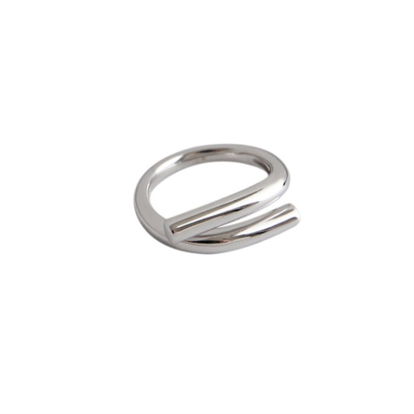 Simple Silver Ring ( Freesize )