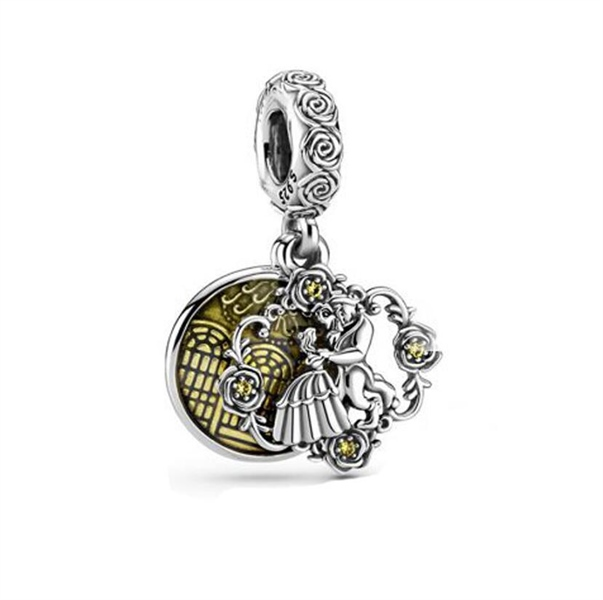 Beauty Is Found Within Dangle Charm