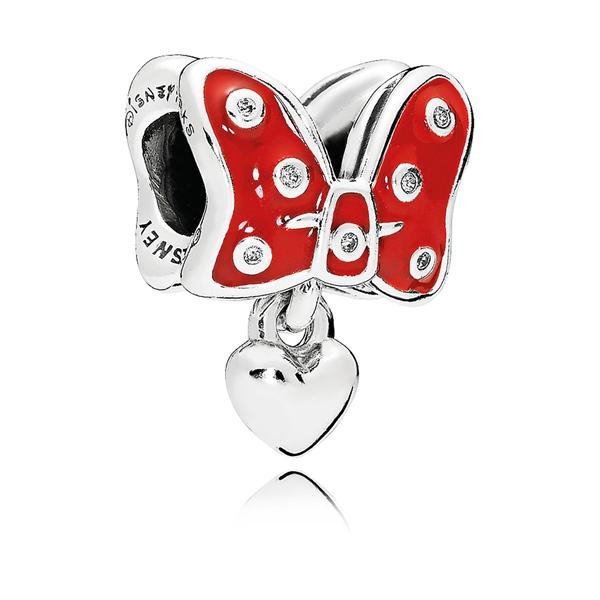 Minnie Red Bow Charm