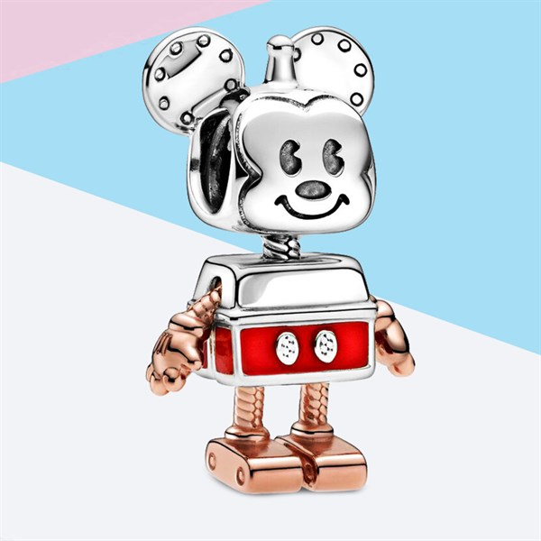Disney Mickey Mouse Robot Charm