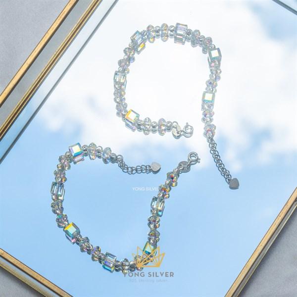 Lucien Halo Crystal Bracelet