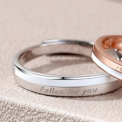 Fallen For You Couple Ring