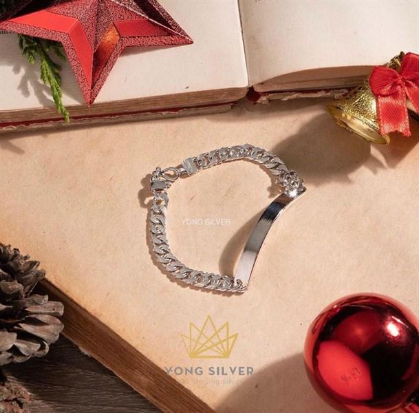 Rename Silver Bracelet